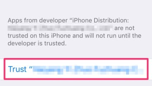 Trust Developer